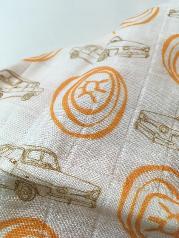 Lange 100% coton bio, design exclusif La Modette